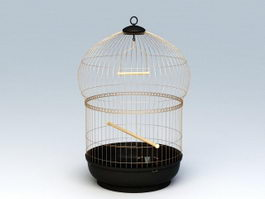 Victorian Bird Cage 3d preview