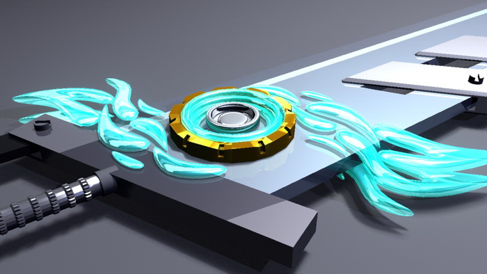 Futuristic Energy Sword 3d rendering