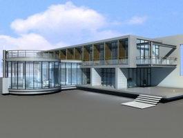 New Modern Villa 3d model preview