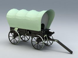 Covered Wagon 3d preview