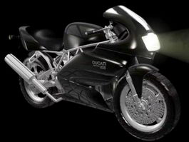 Ducati 800SS 3d preview