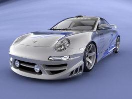 Porsche 911 3d preview