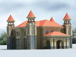 Mansion House 3d preview