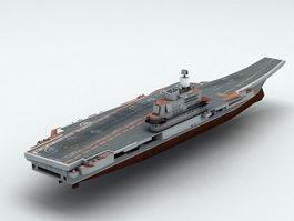 Admiral Kuznetsov Aircraft Carrier 3d preview