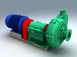 Turbine Generator 3d preview