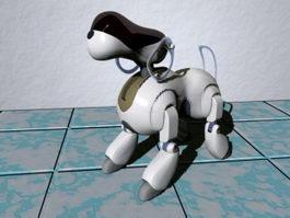 Robot Dog 3d model preview