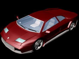 Lamborghini Aventador 3d preview