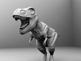 T-Rex Tyrannosaurus 3d preview