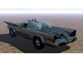 1960s Batmobile 3d preview