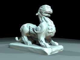 Chinese Pixiu 3d preview