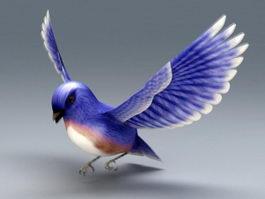 Eastern Bluebird 3d model preview