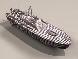 Motor Torpedo Boat PT-109 3d preview