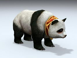 Giant Panda 3d model preview