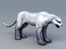 Snow Leopard 3d preview