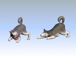 Pet Dog 3d preview