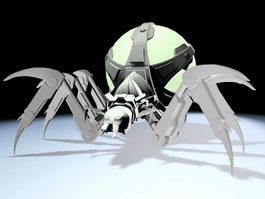Spider-Mech 3d preview