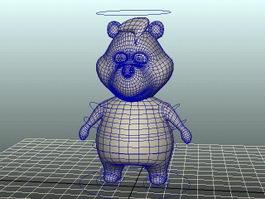 Cartoon Bear Rig 3d preview