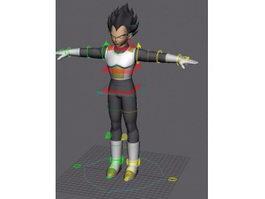 Dragon Ball Vegeta 3d preview