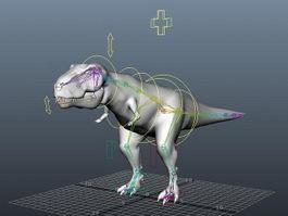 Tyrannosaurus Rig 3d preview