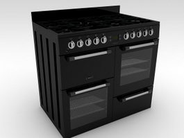 Kitchen Range 3d preview