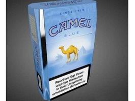Camel Cigarettes 3d model preview