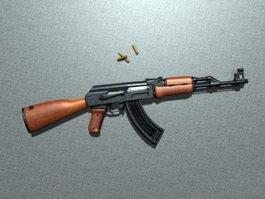 AK-47 Rifle 3d preview