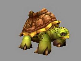 Cartoon Tortoise 3d preview
