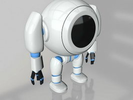 Cute Robot 3d preview