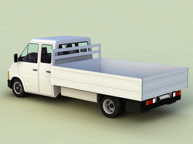 Pickup Truck 3d rendering