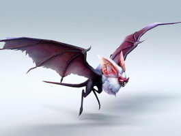 Giant Bat Monster 3d preview