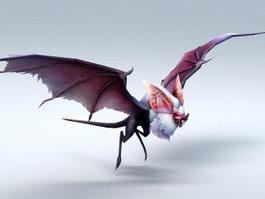 Giant Bat Monster 3d model preview