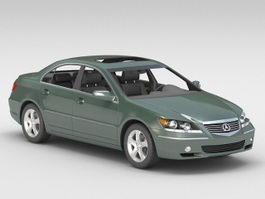 Acura RL 3d preview