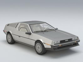 DeLorean DMC-12 3d preview