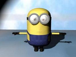 Despicable Me Minion 3d preview