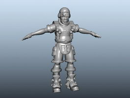 Armored Warrior 3d preview