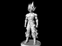 Dragon Ball Goku 3d preview