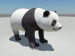 Panda Bear 3d model preview