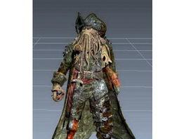 Davy Jones 3d preview