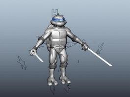 Teenage Mutant Ninja Turtle 3d preview