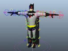Batman Rig 3d preview