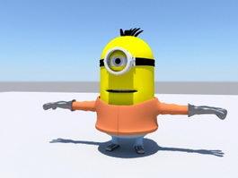 Despicable Me Minion 3d model preview