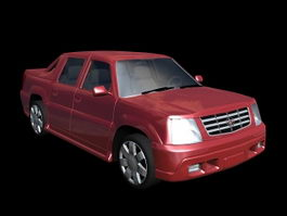 Cadillac Escalade EXT Pick Up 3d preview