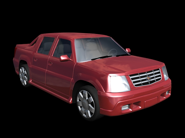 Cadillac Escalade EXT Pick Up 3d rendering