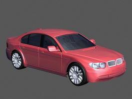 Luxury Sedan Car 3d preview