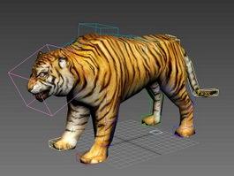 Tiger Rig 3d preview