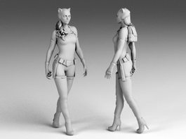 Catwoman 3d preview