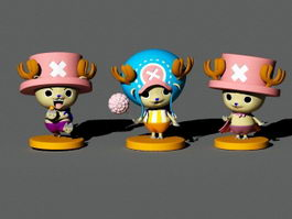 Tony Tony Chopper 3d preview