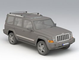 Jeep Wrangler 3d preview