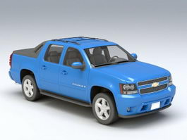 Chevrolet Avalanche 3d preview
