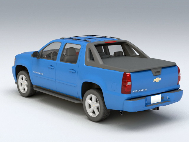 Chevrolet Avalanche 3d rendering